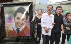 Lễ đưa tang MC Quang Minh: Đau lòng giờ phút tiễn biệt