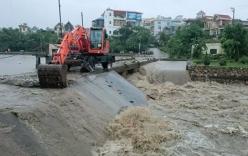 Phá đập tràn sông Sinh để xả lũ, cứu 200 hộ dân