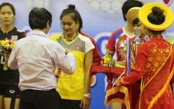 Linh Chi đoạt danh hiệu Hoa khôi bóng chuyền VTV Cup 2015