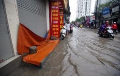Hà Nội - Nam Định - Thái Bình ngập nước vì mưa lớn