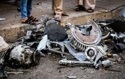 Syria: Chiến đấu cơ rơi xuống chợ, ít nhất 12 người chết