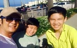Facebook sao Việt: Bằng Kiều rạng rỡ cùng hai con trai