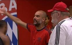 Bênh học trò, Pep Guardiola suýt tẩn nhau với
