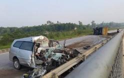 Tai nạn thảm khốc trên cao tốc, 3 người chết: Lái xe không làm chủ tốc độ