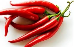 Lợi ích tuyệt vời của ớt đối với sức khỏe