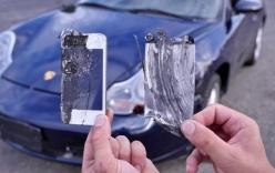 Dùng iPhone làm má phanh siêu xe Porsche 911