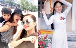 Facebook sao Việt: Hà Hồ cõng bé Subeo, Lan Phương khoe vẻ đẹp ngây thơ