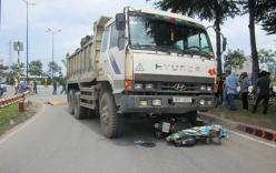 Bình Phước: Hung thần xe ben gây tai nạn, một phụ nữ tử vong