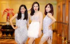 Lưu Hương Giang diện váy xuyên thấu tất bật chạy show