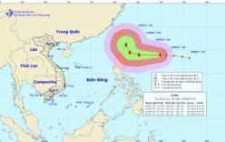 Xuất hiện siêu bão GONI giật cấp 17 ngoài biển Đông