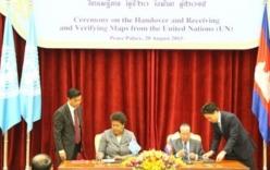 LHQ bàn giao bản đồ biên giới với Việt Nam cho Campuchia