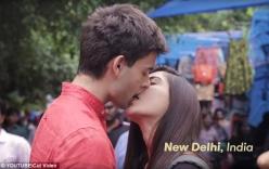 Video cực lãng mạn ghi lại nụ hôn khắp 5 châu lục