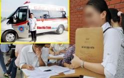 Thuê xe cấp cứu đi rút hồ sơ đại học