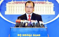 Phản đối Đài Loan xây dựng trái phép ngọn hải đăng ở Trường Sa