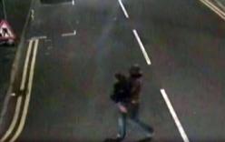 Video: Nghi phạm hiếp dâm vác nạn nhân băng vội qua đường