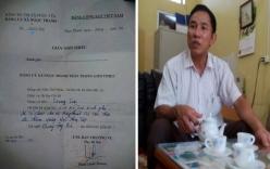 Lãnh đạo xã ký giấy cho thôn xin tiền doanh nghiệp