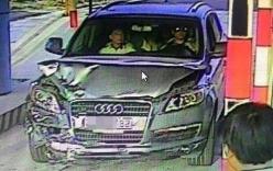 Khoảnh khắc chiếc Audi bỏ chạy sau khi gây tai nạn chết người