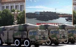 """Trung Quốc """"khoe"""" một loạt tên lửa dòng DF trong lễ diễu binh lớn nhất lịch sử"""