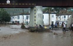 Bão Goni gây mưa lớn ở Triều Tiên, 40 người thiệt mạng