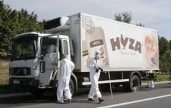 Bắt 4 đối tượng liên quan vụ xe tải chở đầy thi thể người