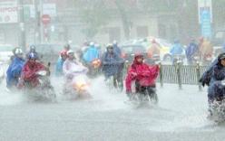 Thời tiết 2 ngày cuối tuần, Bắc Bộ có mưa to gây ngập úng