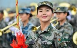 Ngắm dàn quân nhạc nữ đẹp như mộng của TQ tham gia diễu binh 3/9