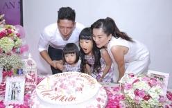 Vợ chồng Bình Minh tổ chức tiệc sinh nhật cho con gái