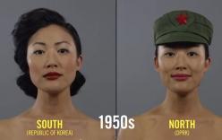 """Những trào lưu làm đẹp """"hot"""" nhất Triều Tiên 100 năm qua"""