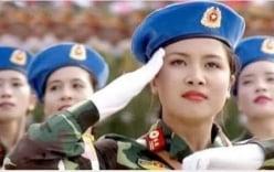 """Nữ quân nhân xinh đẹp trong lễ diễu binh 2/9 """"đốn tim"""" cộng đồng mạng"""