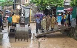 Quảng Ninh: Mưa lớn, người phụ nữ đi chợ bị nước cuốn trôi