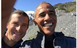 """Tổng thống Obama """"hăm hở"""" chụp ảnh selfie khi đi công tác"""