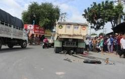 Xe ben gây tai nạn, thi thể nạn nhân mắc kẹt trong gầm xe