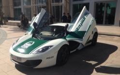 Cảnh sát Dubai gây choáng với dàn xe sang tiền tỷ