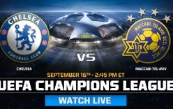 Kết quả trận đấu Chelsea 4-0 Maccabi Tel Aviv