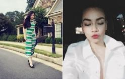 Facebook sao Việt: Hương Tràm trẻ trung trên đất Mỹ