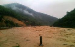 Mưa lớn ở Thanh Hóa, nhiều vùng bị cô lập