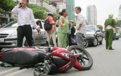 Bạn nên làm gì khi xảy ra tai nạn xe máy?