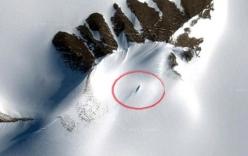 Phát hiện xác tàu UFO chôn vùi trong băng tuyết Nam Cực?