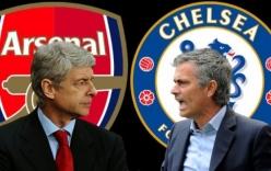 Chelsea vs Arsenal: Áp lực đè nặng Mourinho, 18h45 ngày 19/9