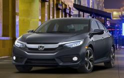 Hé lộ những hình ảnh Honda Civic sedan 2016 hoàn toàn mới