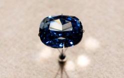 Cận cảnh viên kim cương xanh trị giá hàng nghìn tỷ