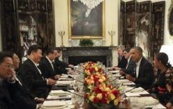 Tập Cận Bình dùng bữa riêng với Obama