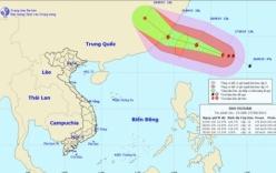 Xuất hiện siêu bão Dujuan đang hoạt động mạnh trên Biển Đông