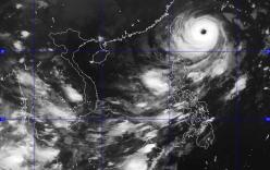 Siêu bão Dujuan giật cấp 17 hướng vào Trung Quốc