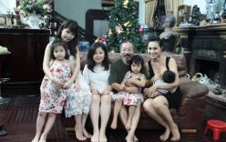 Dung nhan người vợ trẻ thua 32 tuổi của NSND Lê Hùng