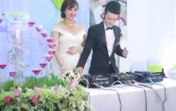 Chú rể mặc váy cô dâu