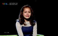 Chi Pu khóc trên sóng truyền hình khi nhắc về Gil Lê