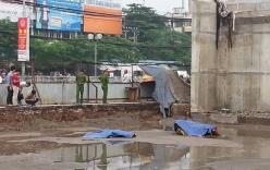 Hà Nội: Đi xe lên cầu xây dở, một người rơi xuống đất tử vong
