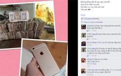 Hà Nội: Mang 18,5 triệu đồng tiền lẻ mua iPhone 6 Plus cho chồng