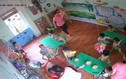 Bé gái 16 tháng tuổi bị cô giáo tát vì ăn chậm ở Hà Nội